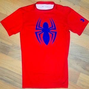 Men's Under Armour Spiderman Compression T-shirt